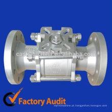 válvula de aço inoxidável válvula de esfera de aço inoxidável de 2 polegadas