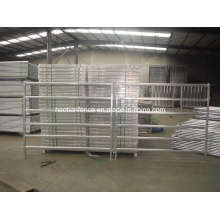 Oval Rail Cattle Yard Panel