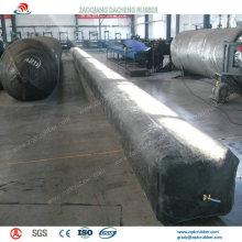 Durable Inflatable Rubber Balloon as Concrete Culvert Mold