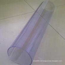 Super Clear transparentes weiches PVC-Blatt-weiches PVC-transparentes Blatt