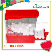 Медицинский впитывающий стоматологический хирургический ватный валик с дозатором