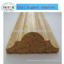 Moldura de madera astragal 9mmx5mm