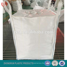 fibc bag with chimney top,Filling top spout 1000kg big bag, 1 ton FIBC bulk bag