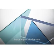 Fabricante de policarbonato 100% de camada virgem para cobertura, armazém, pavilhão, dossel, faixa de espessura de construção