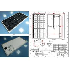 El módulo monocristalino de PV del panel solar de 36V 290W 295W 300W con Ce aprobó
