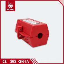 Bloqueo de enchufe eléctrico BD-D42, bloqueo de seguridad para diámetro de cable de 20 mm, diseño de bloqueo de hexágono