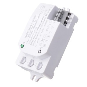 200W Adjustable Microwave Radar Sensor Panel Light Switch
