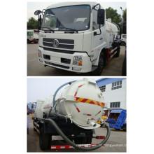 Caminhão de esgoto da sucção do vácuo com capacidade 4000L