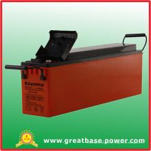 Hohe Qualität 80ah 12V Front Terminal Batterie für Telecom Anwendung