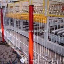 Clôture de protection ferroviaire