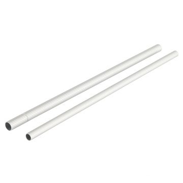 Aluminum round tube roller blinds