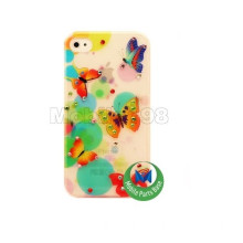 vintage Maruko Hard Back Cover with Skin Surface for iphone