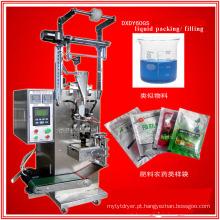 Máquina automática de medição e embalagem de líquidos para leite e vinagre