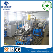 solar frame bracket U channel rollformer production machine