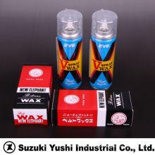 Suzuki Yushi spray de revestimiento de cera industrial para mejorar la fuerza de fricción en la correa plana y correa en V. Hecho en Japón