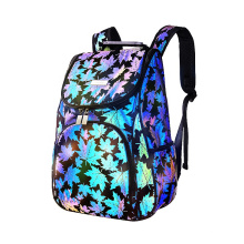 Reflective Backpack High Visibility School Book Bag Night Glow Daypack Laptop Bag for Campus Business Trip Travelling Hiking