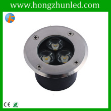 De alto rendimiento 3w subterráneo caja de iluminación rgb proyección de iluminación