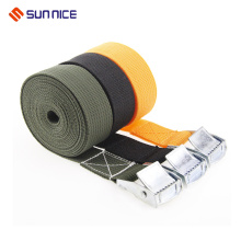Bridging Polyester Custom Luggage Strap dengan Detach Buckle