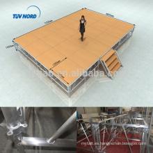 Diseño al aire libre ligero de la etapa del concierto del proveedor de Shangai