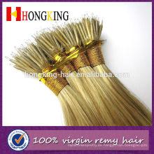 Extensiones nanas del pelo del anillo del color del piano de 16 pulgadas, extensiones nanas del pelo