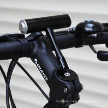 Mountain Bike Extension Bracket Bicycle Light clips Fixed Seat T-racks Handlebar