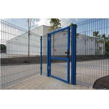 Забор и ворота (покрытие ПВХ)