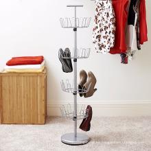 Estante de almacenamiento de zapatos con árbol Vivinature para sostener hasta 24 pares de zapatos