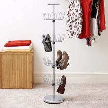 Vivinature дерево ботинка шкафа хранения вмещает до 24 пар обуви