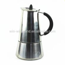 Cafetière espresso à gaz en acier inoxydable