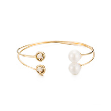 Bijoux de mode Western Style Bracelet en cristal et perle à la mode