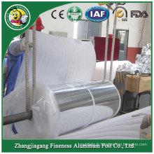 Bon couvercle en aluminium de papier d'aluminium de laque à chaud dans le rouleau