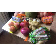 Bolsas de plástico vegetales grandes vendedoras calientes para recoger