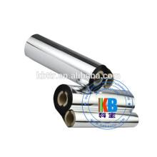 Meia polegada de núcleo de impressão de transferência térmica fita de impressora tipo zebra lavar preto fita de transferência térmica