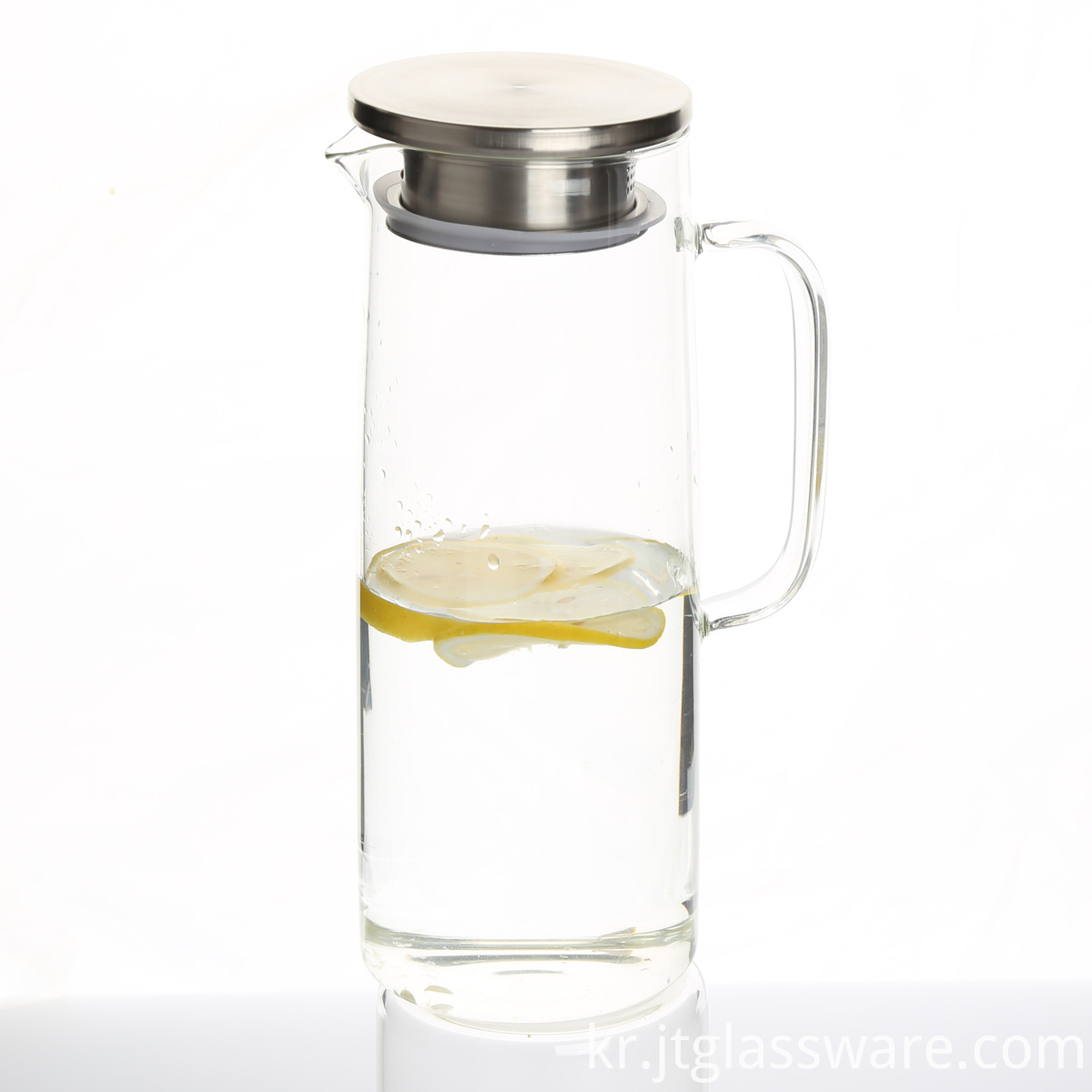 Glass Mouthblown Carafe
