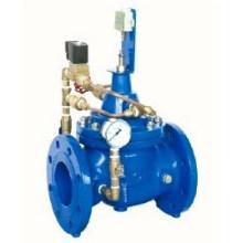 Soupape de commande de pompe à revêtement époxy en fonte ductile