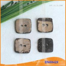 Botões de coco natural para vestuário BN8042