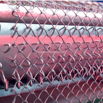 Galvanized Chain Link Wire Pagar