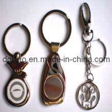 Zinc Key Ring With SGS, ISO9001: 2008, RoHS
