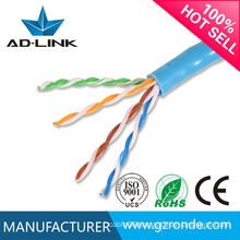 copper wire rubber jacket cable cat5e utp cat5e networking cable 4pr 24awg
