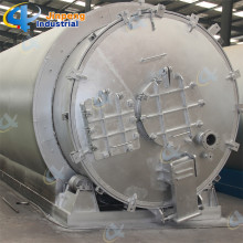 Afvalband recycling pyrolyse machine
