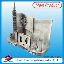 Держатель визитной карточки металла