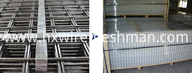 packing of wire mesh panel
