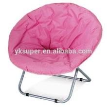 Cadeira luxuosa da lua / cadeira acolchoada da lua / cadeira relaxe dobrável
