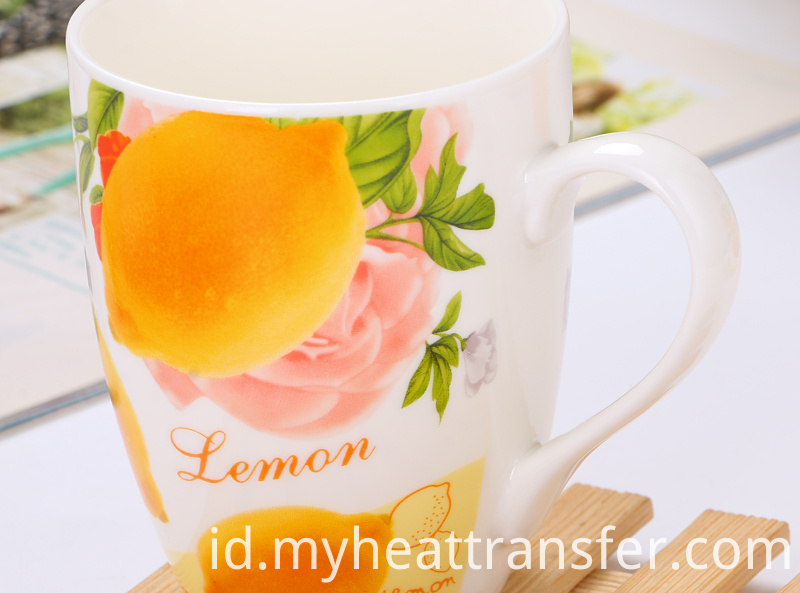 Fruit Ceramic cup