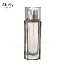 Frasco de perfume de botella de vidrio portátil para Mini Fragancia