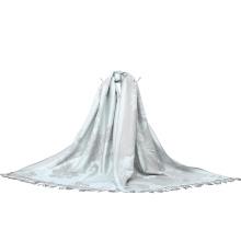 190 * 80cm Lady Pashmina Scarf De Moda Com Padrão De Flor