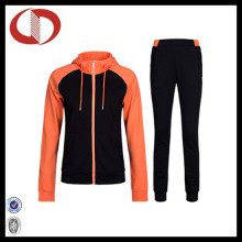 High Quallity New Style CVC Frauen Jogging Anzug Sport Tracksuit