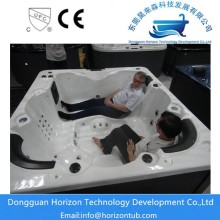 Various types of hot tub in horizon