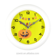 Cheap promotion wall clock plastic lens covering