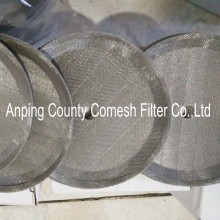 9cm Stainless Steel Woven Coffee Filter Disc